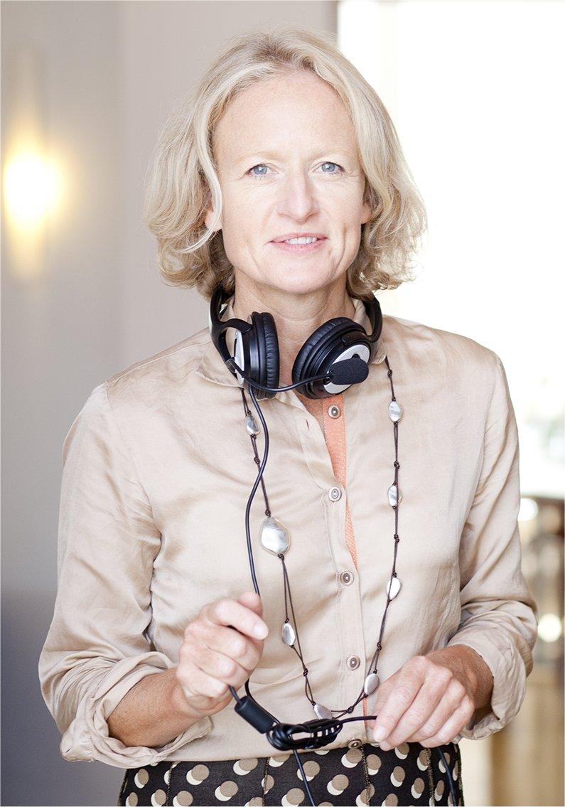Alexandra von Rohr, Programmleiterin des Sprachinstituts TREFFPUNKT-ONLINE
