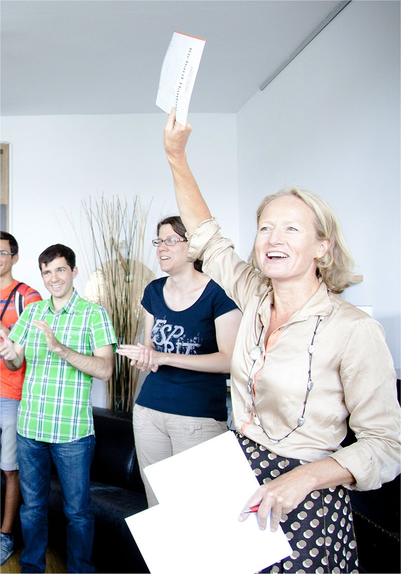 Erfolg beim Blended Learning Deutsch