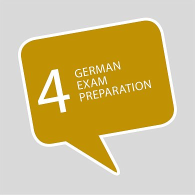 Course 4 German exam preparation online Goethe telc