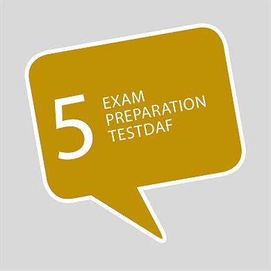Course 5 German TestDaF exam preparation online