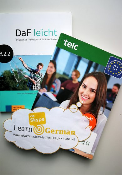 Recommended textbooks for courses German as a foreign language