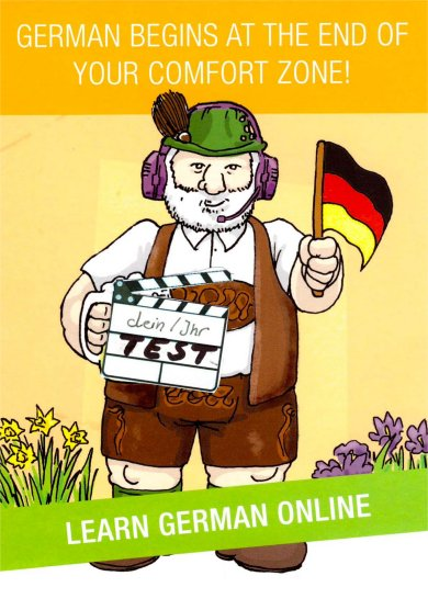 Placement Test German | German begins at the end of your comfort Zone