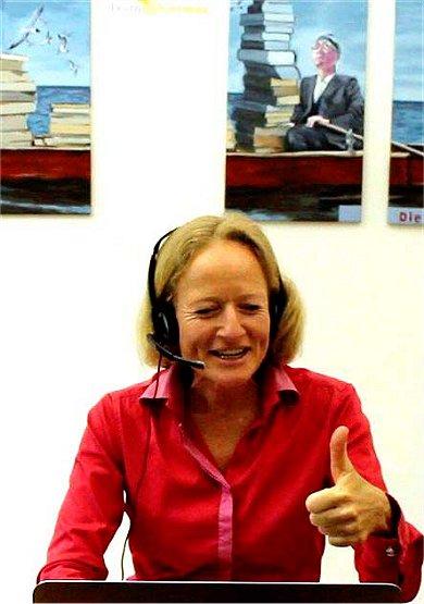 Schnupperstunde Deutsch Online mit Alexandra