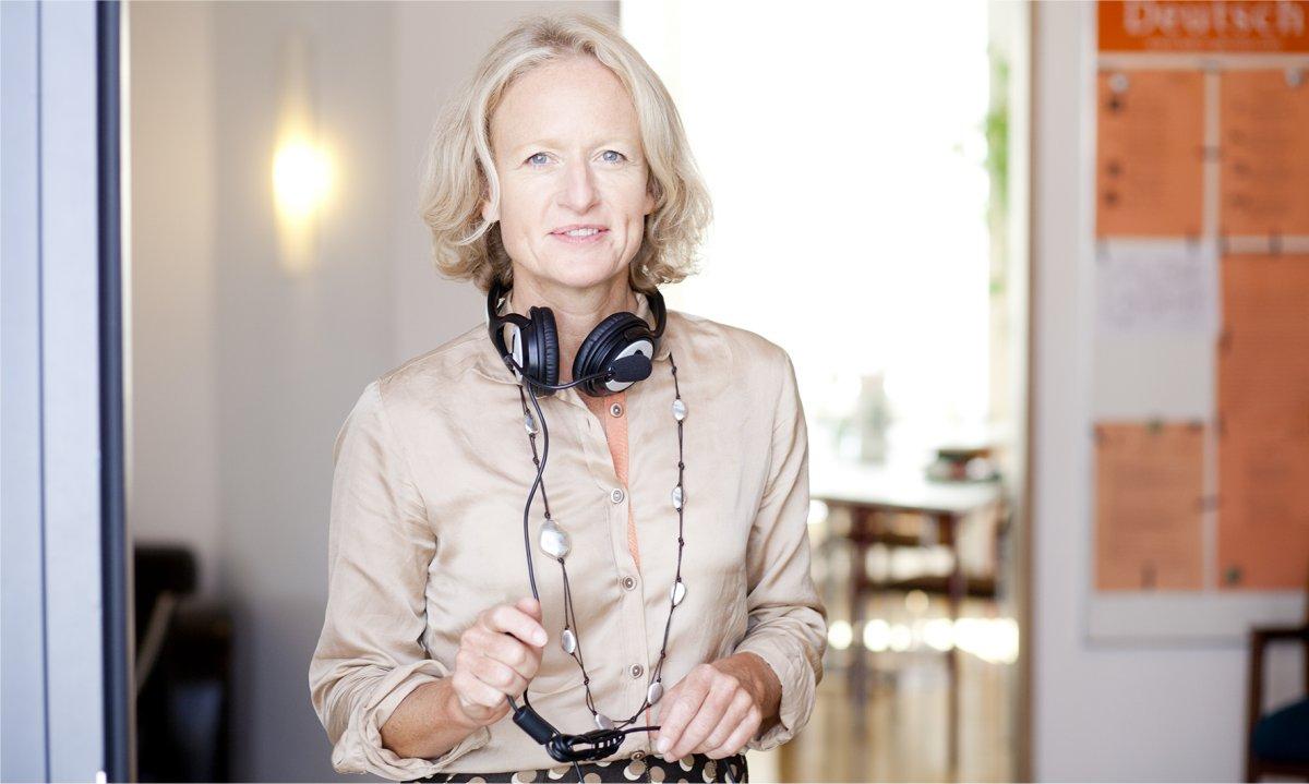 Alexandra von Rohr, Direktorin von Sprachinstitut TREFFPUNKT-ONLINE