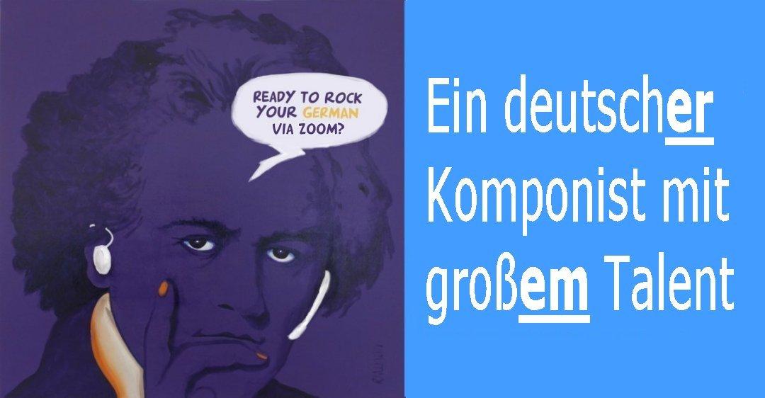 Deutschkurs – Schnupperstunde auf ZOOM | 2020-12-06 | Adjektivdeklination | GRATIS