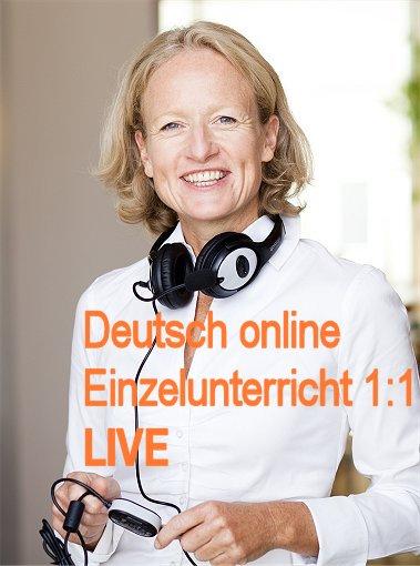 Deutschkurs Online | Live 1:1 | Einzelunterricht