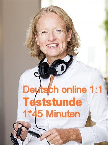 Teststunde Deutsch 45 Min.