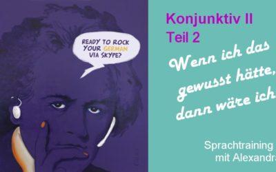 German taster lesson via ZOOM | 2021-02-07 | subjunctive part 2 | FREE
