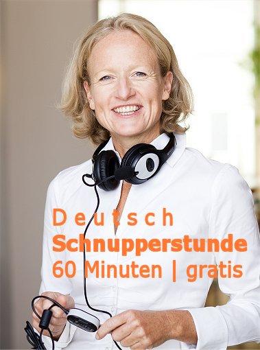 Deutsch Schnupperstunde mit Alexandra | GRATIS