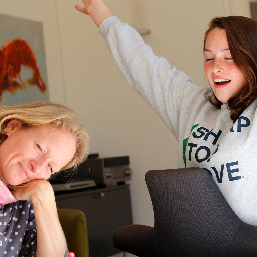 Sucess after German class with Alexandra